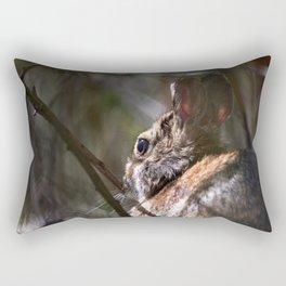 Sunshine Rabbit Rectangular Pillow