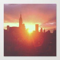 6:30am, New York Canvas Print