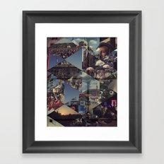 Glasto 2010 Framed Art Print