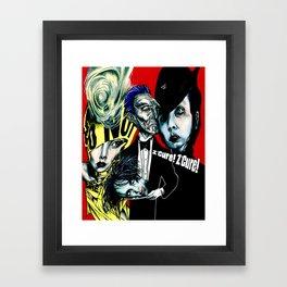 The Enlightened Ones Framed Art Print