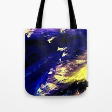 Abstract Midnight Dancer by Robert S. Lee  Tote Bag
