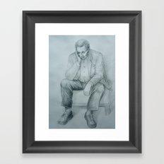 Sketch nr.6 Framed Art Print