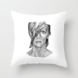 Wood dB Throw Pillow