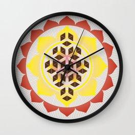 Sacred Geometry-Flower of life seed Wall Clock