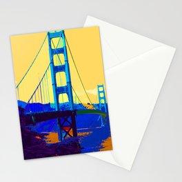 Golden Gate Bridge 013 Stationery Cards