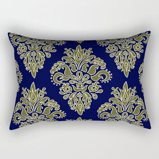 Ornate Vintage Pattern Rectangular Pillow