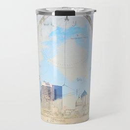 Gateway Arch, Saint Louis USA Travel Mug