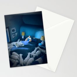 Sleepless Stationery Cards