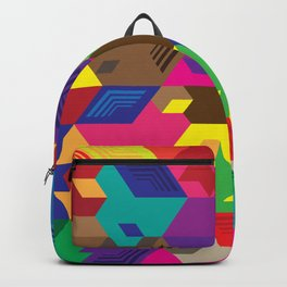 Colorful stairs Backpack