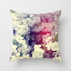 Secret Garden | Cherry blossom Throw Pillow