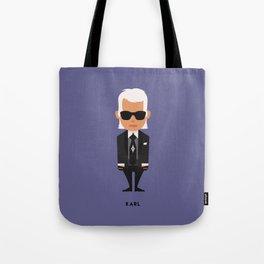 FASHION ICONS - KARL Tote Bag