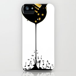 Flowing Music iPhone Case