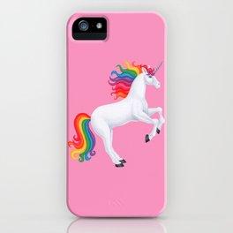 kismet (rainbow unicorn) iPhone Case