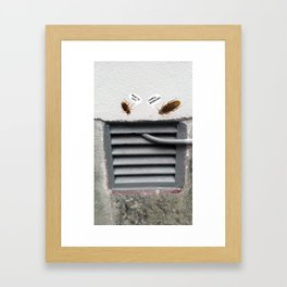 Cockroach Framed Art Print