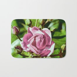 Rosa Rose Bath Mat