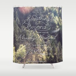 Something Beyond Shower Curtain