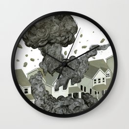 What People Leave Behind Wall Clock