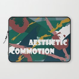 Aesthetic Commotion Laptop Sleeve