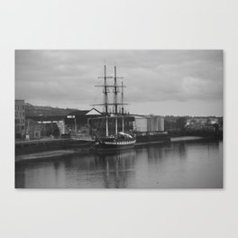 Famine Ship Dunbrody Canvas Print