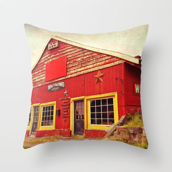 Wayne Feeds Throw Pillow