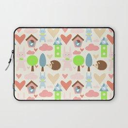 Bunny fun land Laptop Sleeve