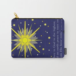 stars & crosses (luke2:14)  Carry-All Pouch