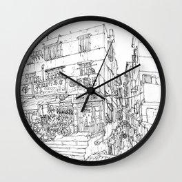ZhuHai. China. Urban Sketch Wall Clock