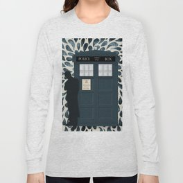 Dr Who and his Timey-Wimey Vehicle Long Sleeve T-shirt