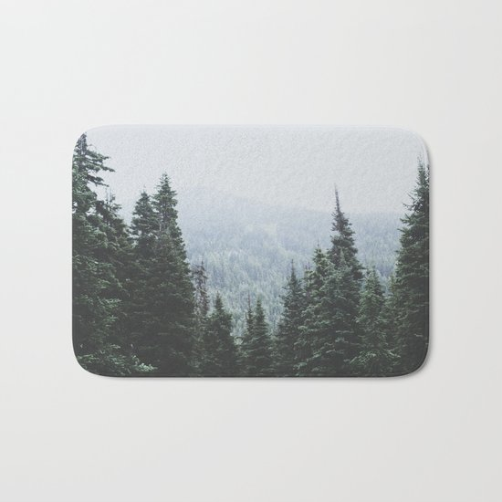 Forest Window Bath Mat