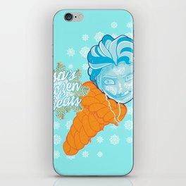Elsa's Frozen Treats iPhone Skin