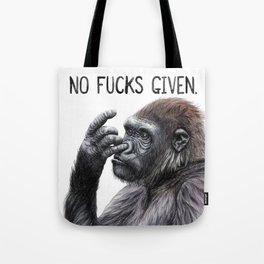 No Fucks Given Tote Bag