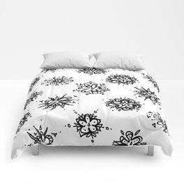 Flower Doodles Comforters