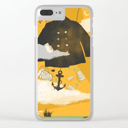 SEA DREAMING Clear iPhone Case