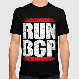 Run BGP Programming T-Shirt Programmer  Tee T-shirt