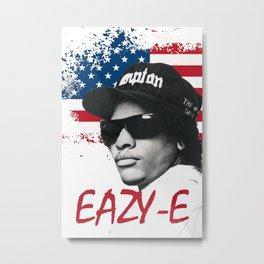 EazyE NWA Rap Legend Art Large Poster Metal Print