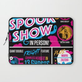 Spook Show Tribute Poster 01 Laptop Sleeve