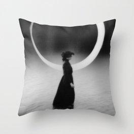 The 7th Bullet - Widow Throw Pillow