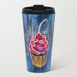 Rainbow Cupcake Travel Mug