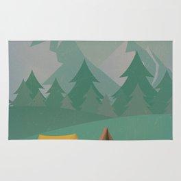 Mountain Camp Rug