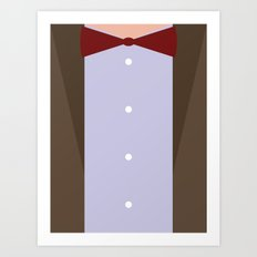 The Eleventh (11th) Doctor - Doctor Who Art Print