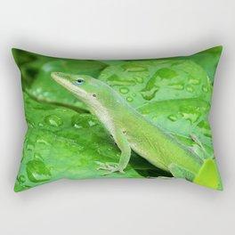 Mr. Lizard is Watching You Rectangular Pillow