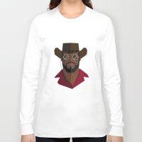 django Long Sleeve T-shirts featuring Django Unchained by justdan