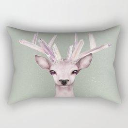 Crystal Deer Rectangular Pillow