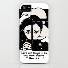 Things in life iPhone Case