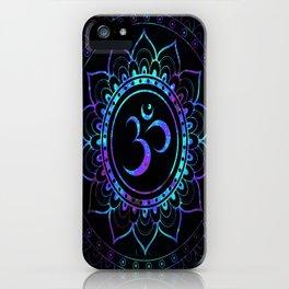 Om Mandala: Colorful Galaxy iPhone Case