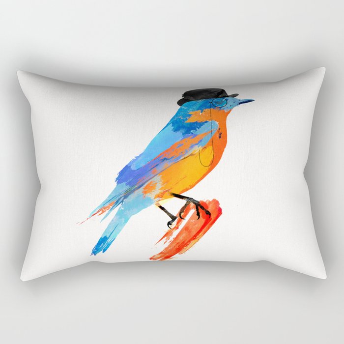 Lord Birdy Rectangular Pillow