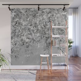Snow Flurry Wall Mural