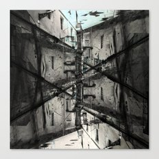 No clear ways without cleaning up after, or first. [D] Canvas Print