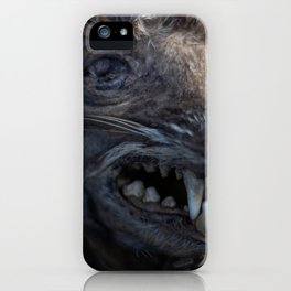 Remains of a Bygone Predator, Headshot iPhone Case