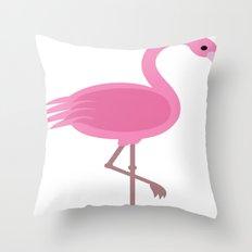 flamingo-2 Throw Pillow